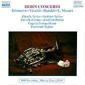 Horn Concerti - Telemann, Vivaldi, et al / Tylsar, Vajnar