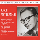 Dokumente Einer S&auml;ngerkarriere - Joseph Metternich