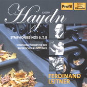 Haydn: Symphony no 6, 7 & 8 / Leitner, et al