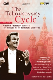 Tchaikovsky Cycle Vol. 1: Symphony no. 1, Rococo Variations / Fedoseyev, Moscow RSO [DVD]