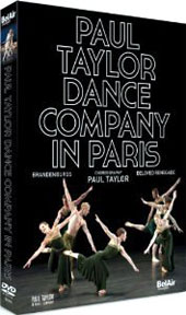 Paul Taylor Dance Company in Paris: Brandenburgs; Beloved Renegade - Bach, Poulenc / Paul Taylor [DVD]