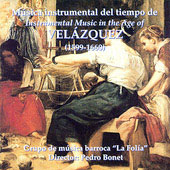 Instrumental Music in the Age of Velázquez / Bonet, La Folía