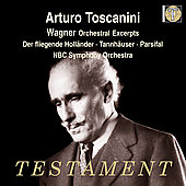 Wagner: Orchestral Excerpts / Toscanini, NBC SO