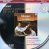 Mozart: Piano Concertos Nos.15, 21, 23