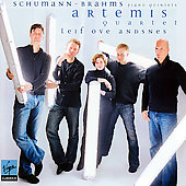 Brahms, Schumann: Piano Quintets / Andsnes, Artemis Quartet