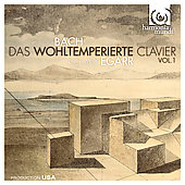 Bach: Das Wohltemperierte Clavier / Richard Egarr
