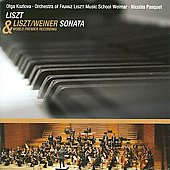 Liszt: Sonata in B minor;  Liszt/Weiner: Sonata in B minor (arranged) / Kozlova, Pasquet et al