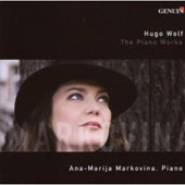 Hugo Wolf: The Piano Works / Ana-Marija Markovina, piano