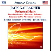 Jack Gallagher: Orchestral Music / Falletta