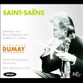 Saint-Saëns: Symphony No. 1; Cello Concerto No. 1; La Muse et la Poete / Pavel Gomziakov, cello