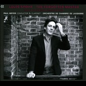 Louis Spohr: The Forgotten Master - Clarinet Concertos nos 1-4 / Paul Meyer, clarinet