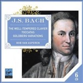 J.S. Bach: The Well-Tempered Clavier; Toccatas; Goldberg Variations / Bob Van Asperen, harpsichord, clavecin, cembalo