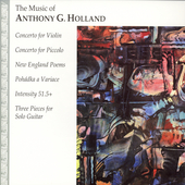 Holland: Piccolo Concerto, Violin Concerto, etc