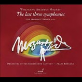 Mozart: The last three symphonies, nos. 39 - 41
