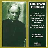 Perosi: String Trio no 1, String Quartet no 4, etc / Perosi