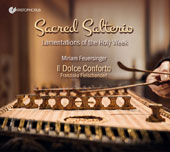 Sacred Salterio: Lamentations for the Holy Week