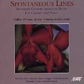 Spontaneous Lines - Twentieth Century American Music