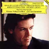 Mahler: Songs of a Wayfarer, etc / Hampson, Bernstein