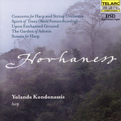 Hovhaness: Concerto for Harp, etc / Kondonassis, et al