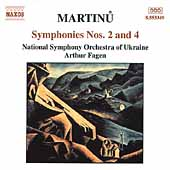 Martinu: Symphonies Nos 2 & 4 / Fagen, NSO of Ukraine