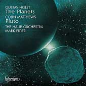 Holst: The Planets;  C. Matthews: Pluto / Elder, et al