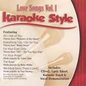 Karaoke: Karaoke Style: Love Songs, Vol. 1
