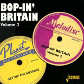 Various Artists: Bop in Britain, Vol. 2: Gettin' the Message