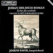 Roman: Twelve Suites for Harpsichord / Joseph Payne
