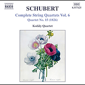 Schubert: Complete String Quartets Vol 6 / Kodály Quartet