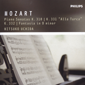The Mozart Collection - Piano Sonatas 8, 11, 12 / Uchida