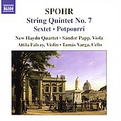 Spohr: String Quintet no 7,etc / New Haydn Quartet, et al