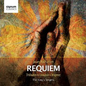 Jean Richafort (1480-1550) Requiem; Nicolas Gombert; Josquin Desprez;  Jacquet of Mantua / The King's Singers