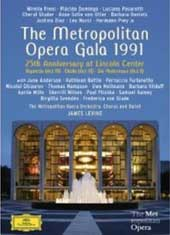 Metropolitan Opera Gala 1991: 25th Anniversary at Lincoln Center / Levine [2 DVD]