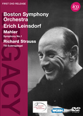 Mahler & Strauss / Erich Leinsdorf, Boston SO [DVD]