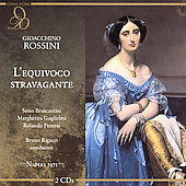 Rossini: L'equivoco Stravagante / Rigacci, Bruscantini