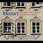 Mozart: Cassations, etc / Kuijken, La Petite Bande