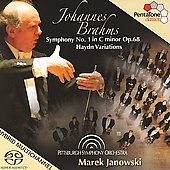 Brahms: Symphony no 1 in C minor Op 68, Haydn Variations