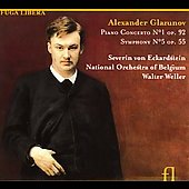 Glazunov: Piano Concerto no 1, Symphony no 5