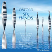 Orford - Works for Six Pianos - Saint-Saëns, Prokofiev, Gounod, Rossini, etc / Murray, Perron, Godin, et al