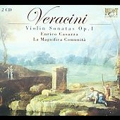 Veracini: Violin Sonatas Op 1 / Casazza, La Magnifica Comunit&agrave;, et al