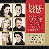 Handel Gold - Bartoli, Fleming, Kozen&aacute;, Terfel, Villaz&oacute;n, Te Kanawa, Sutherland, et al