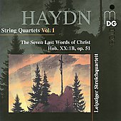Haydn: Seven Last Words of Christ / Leipzig String Quartet