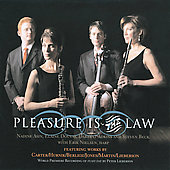 Pleasure is the Law - Carter, Berlioz, Jones, Martin, Lieberson, Hurn&iacute;k / Nadine Asin, Elaine Douvas, Darrett Adkins, Steven Beck