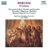 Berlioz: Overtures / Yoav Talmi, San Diego Symphony