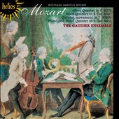 Mozart: Oboe Quartet; Horn Quintet; Piano and Wind Quintet / Gaudier Ensemble