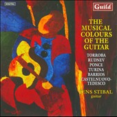 Musical Colours Of Guitar: Turina, Tedesco, Rudnev / Jens Stibal, guitar