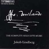 Dowland: The Complete Solo Lute Music / Jakob Lindberg