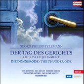 Telemann: The Day of Judgement / Barbara Schlick, Axel Komler