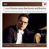 Leon Fleisher Plays Beethoven Piano Concertos Nos. 1-5; Brahms: Piano Concertos Nos. 1 & 2; Mozart: Concerto No. 25 / Szell - Cleveland Orch. [5 CDs]