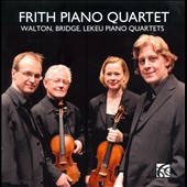 Walton, Bridge, Lekeu: Piano Quartets
